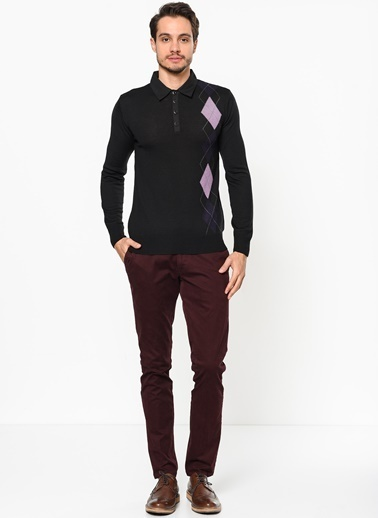 Beymen Business Slim Fit Pantolon Bordo
